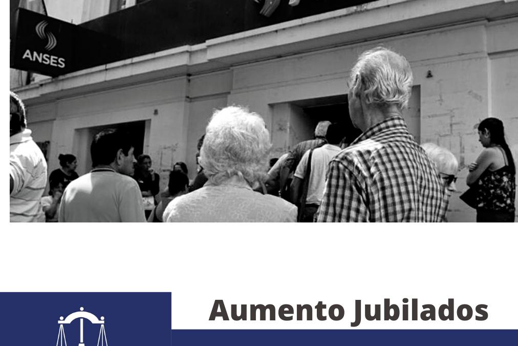 AUMENTO JUBILADOS